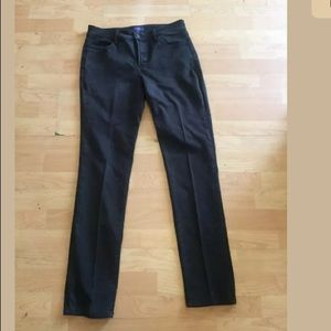 NYDJ dark gray legging Jeans sz 6